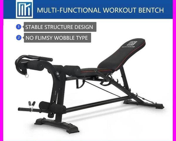ADJUSTABLE BENCH *