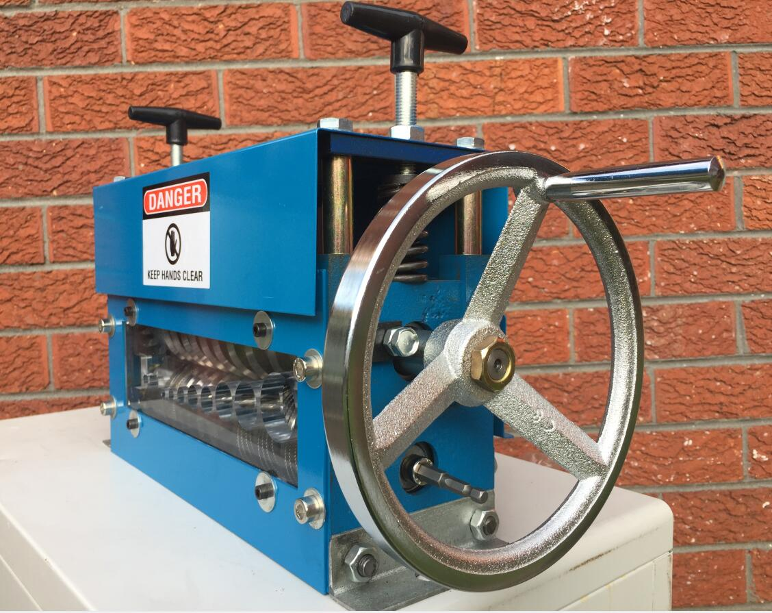 Enerpat® Wire Stripper, Cable Stripping Machine, Crank Wheel+2 Drill Connection